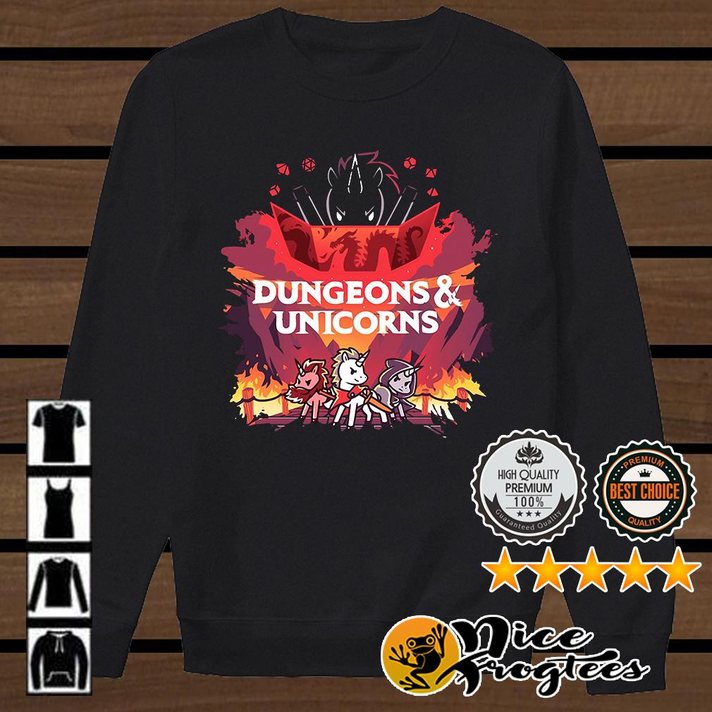 Dungeons and Unicorns shirt