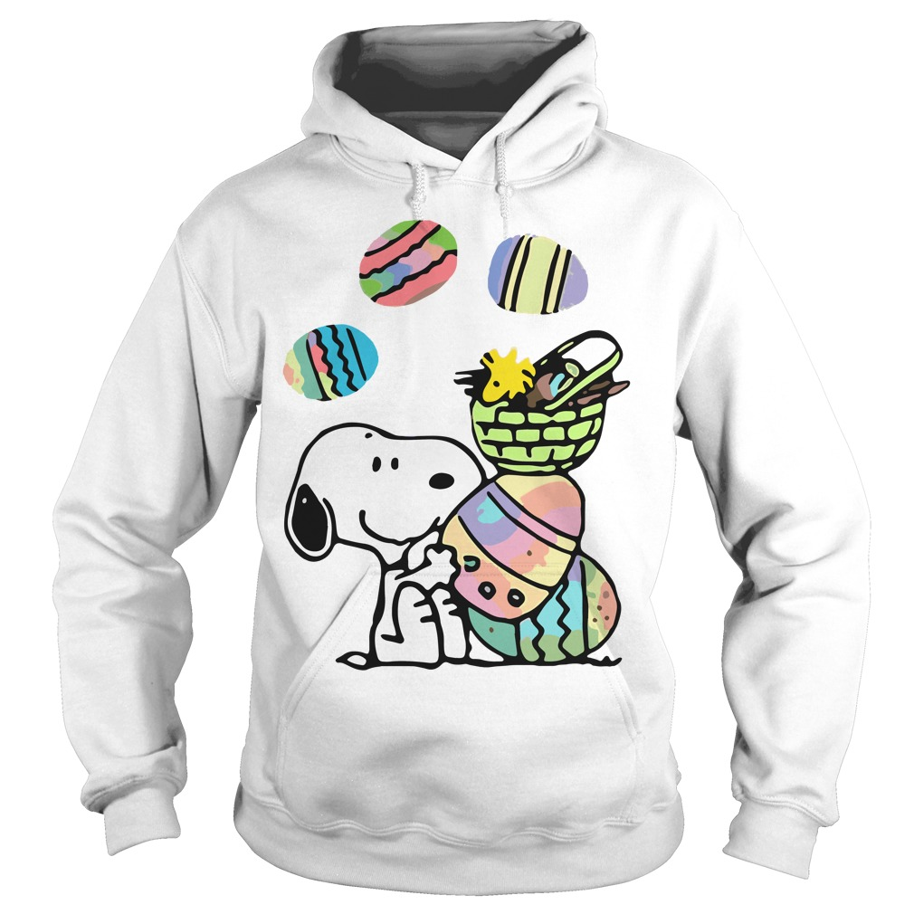 Snoopy and easter eggs Hoodie