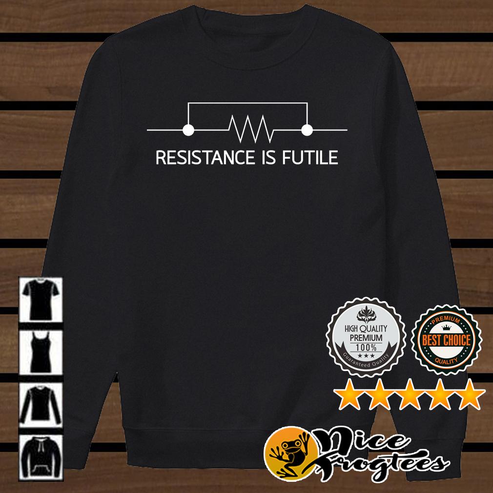 Electrical Engineering Resistor resistance is futile shirt