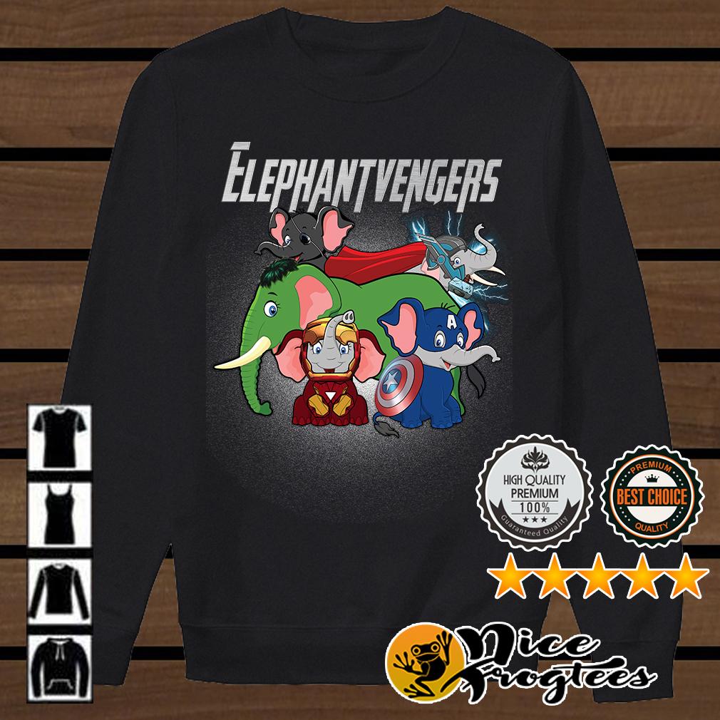 Elephantvengers Marvel Avengers shirt