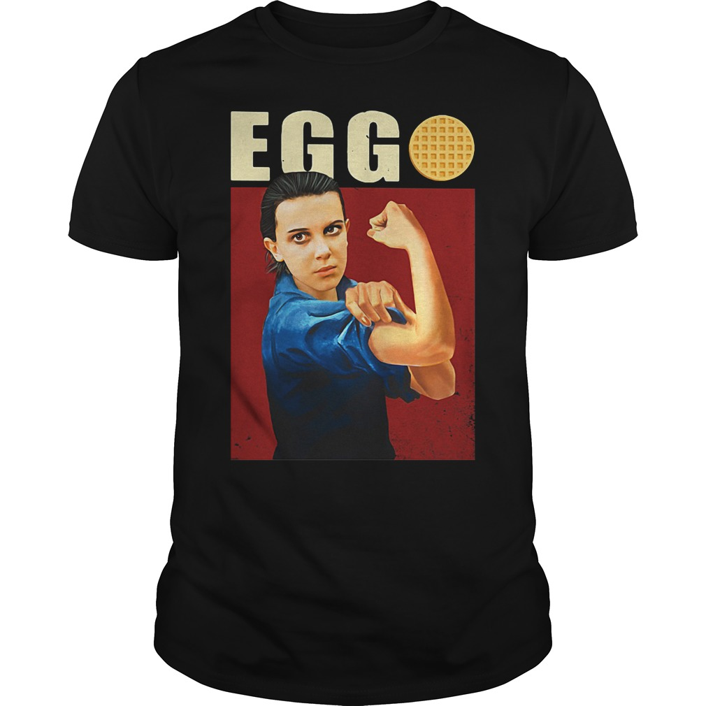 Eleven Eggo Stranger Things shirt