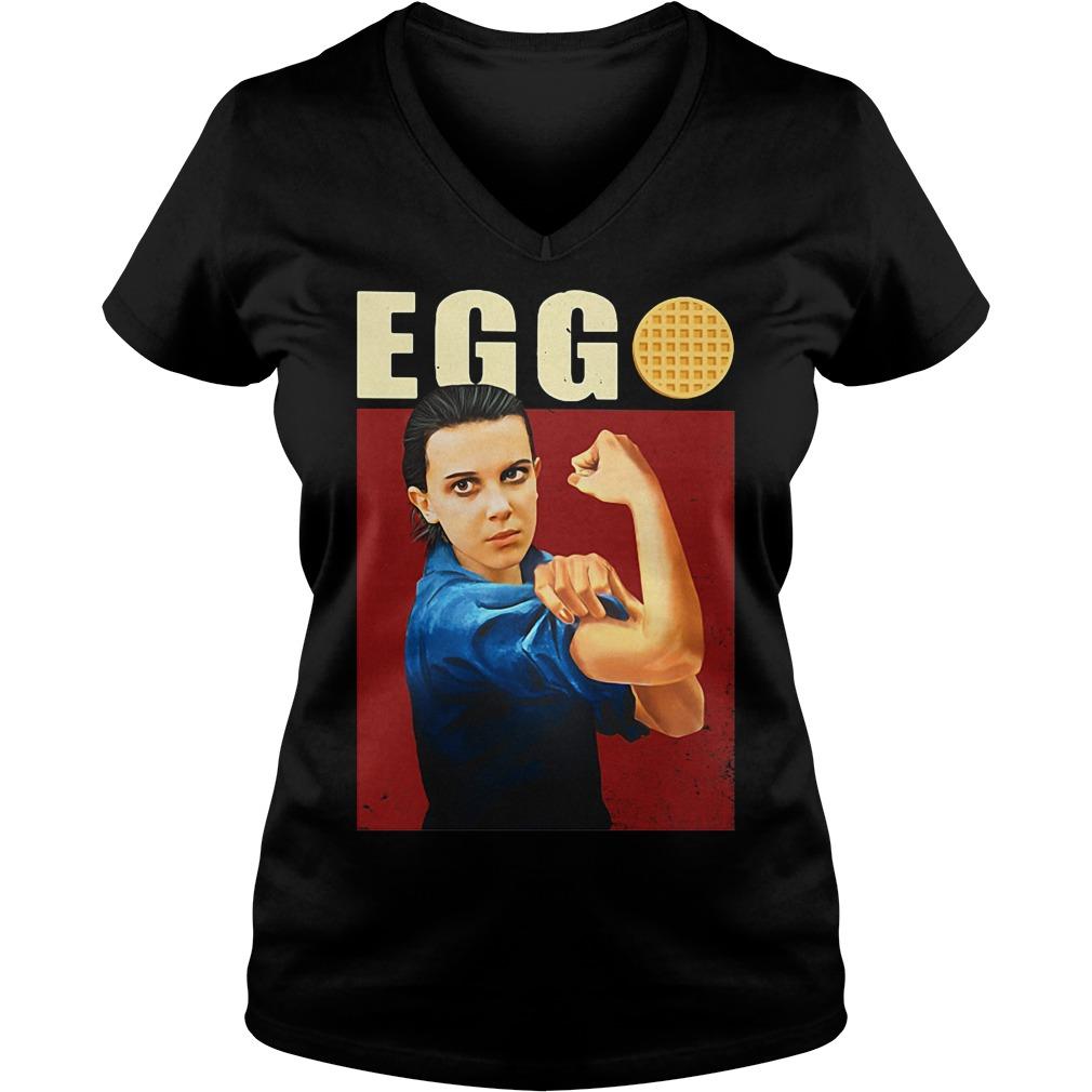 Eleven Eggo V-neck T-shirt