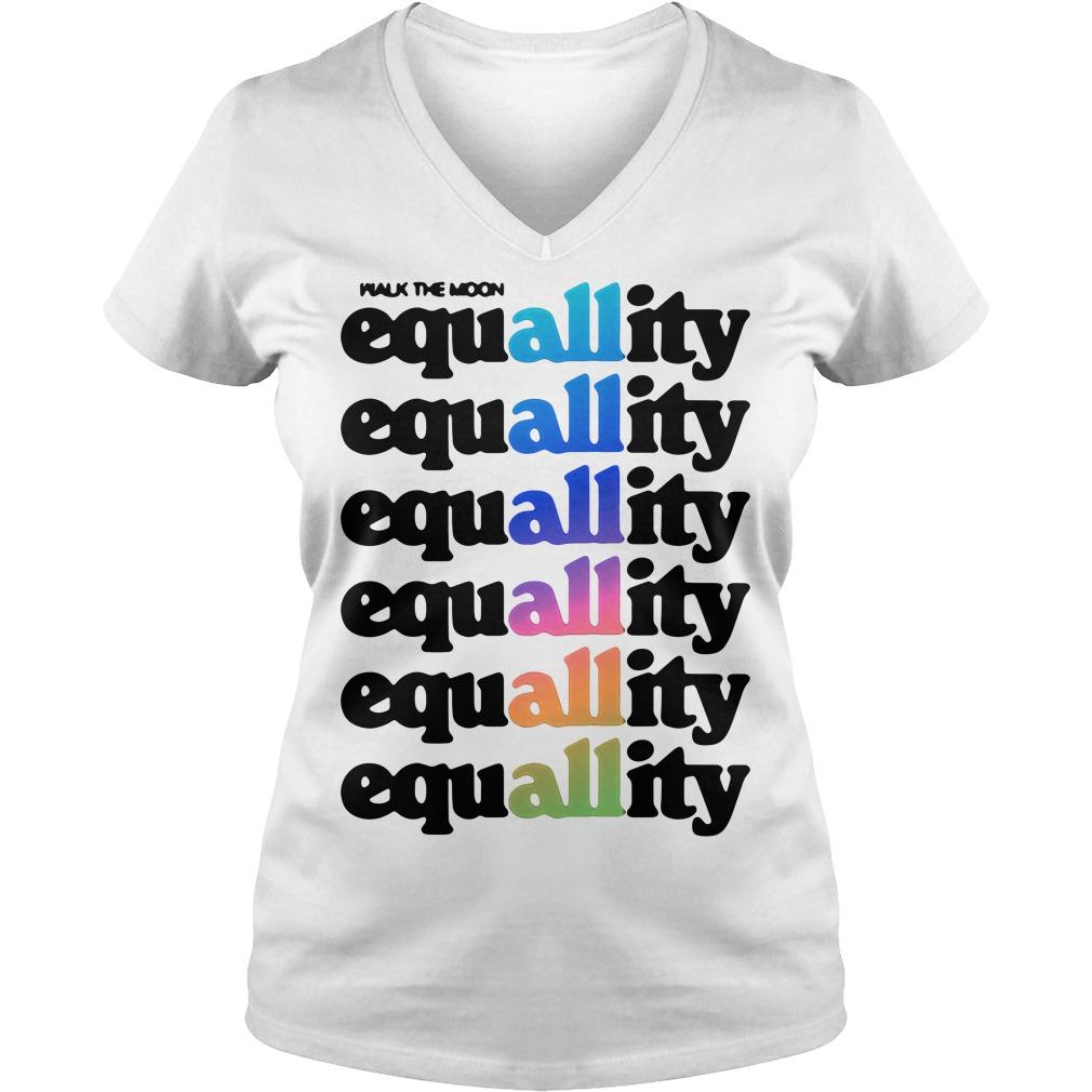 All equallity equallity equallity equallity equallity equallity V-neck t-shirt