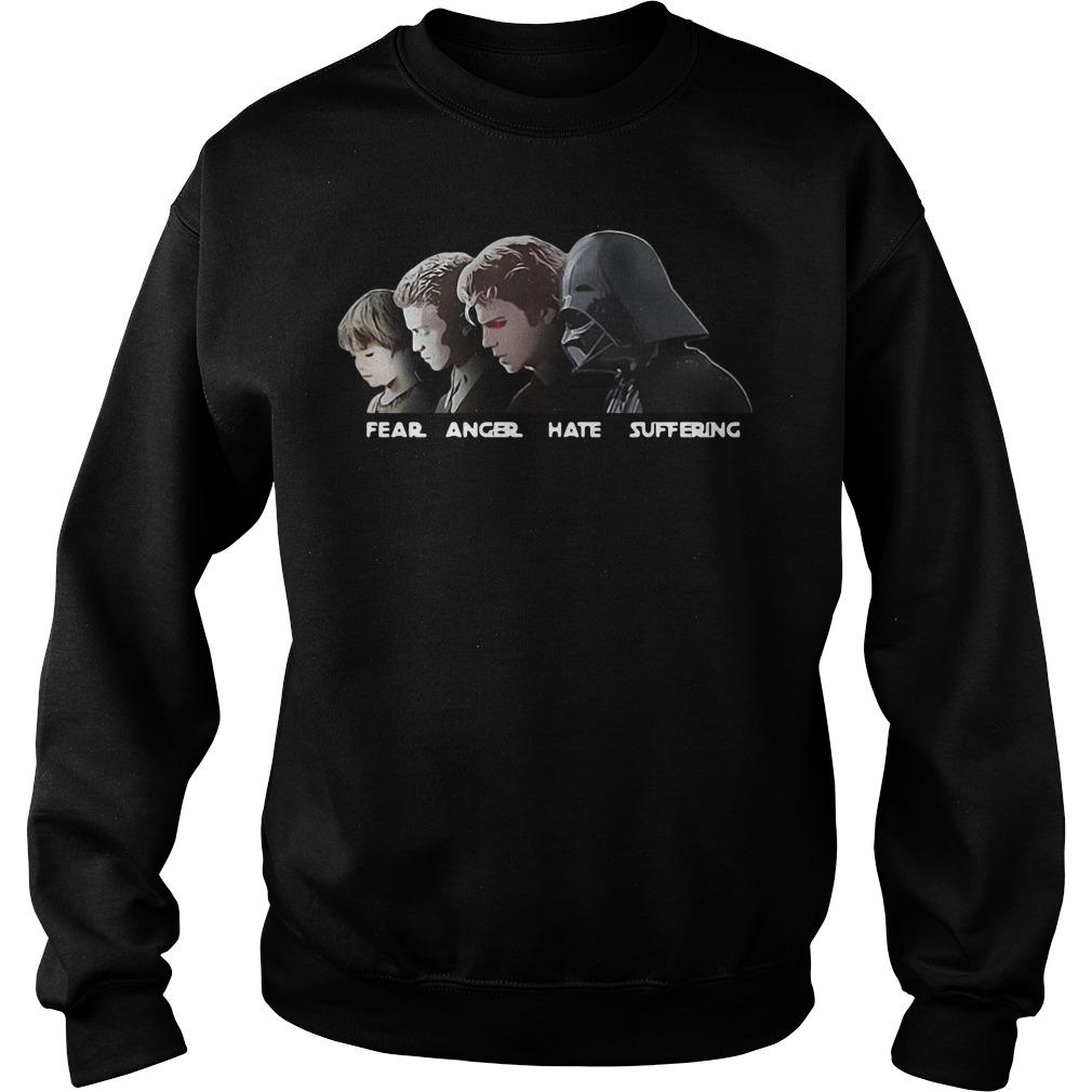 Fear Anger Hate Suffering Anakin Skywalker Version Sweater
