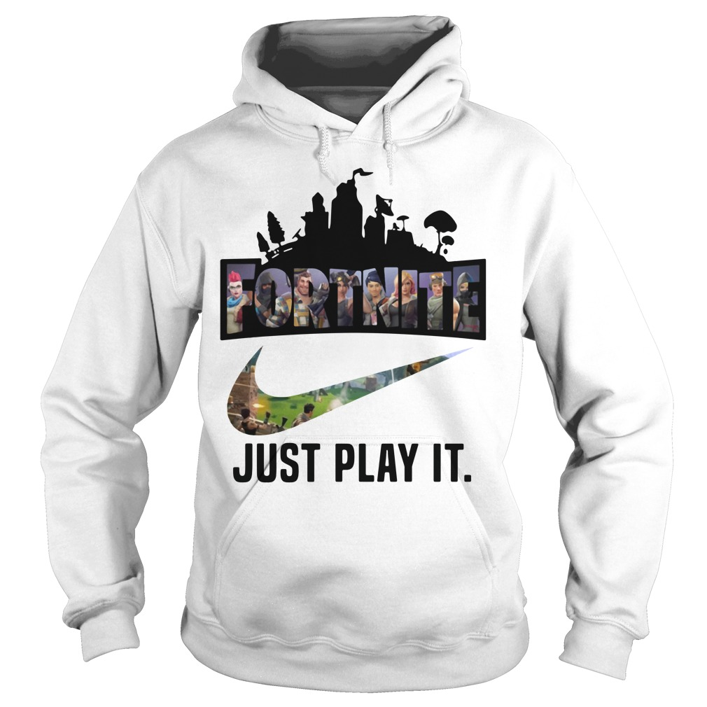 892f01147 Fortuitous Fortnite Game Just Play It logo Nike shirt, hoodie, sweater and  v-neck t-shirt