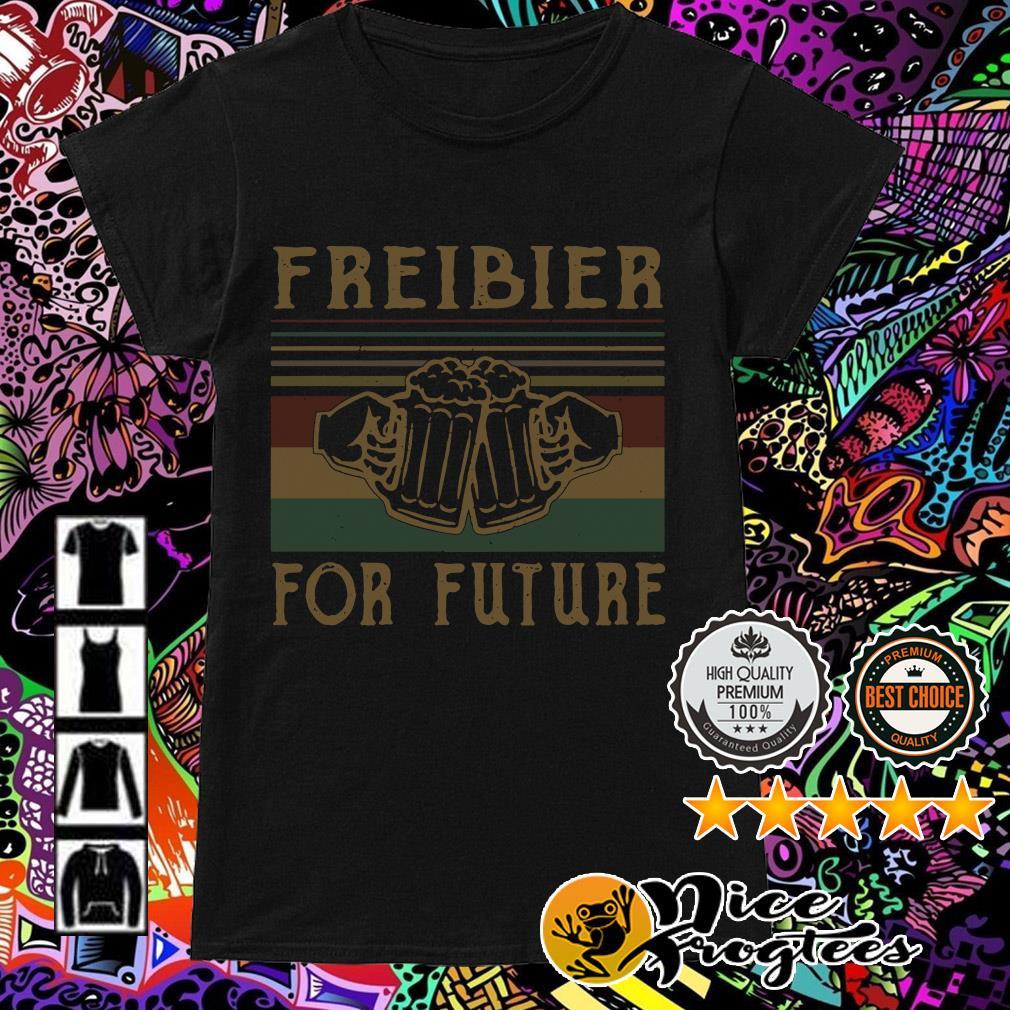 Freibier for Future Lustiges Oktoberfest Bier Sauf Wiesn Ladies Tee