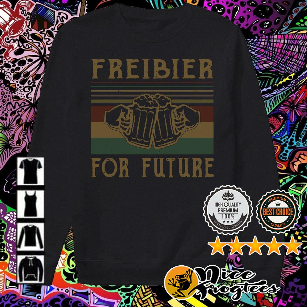 Freibier for Future Lustiges Oktoberfest Bier Sauf Wiesn Sweater
