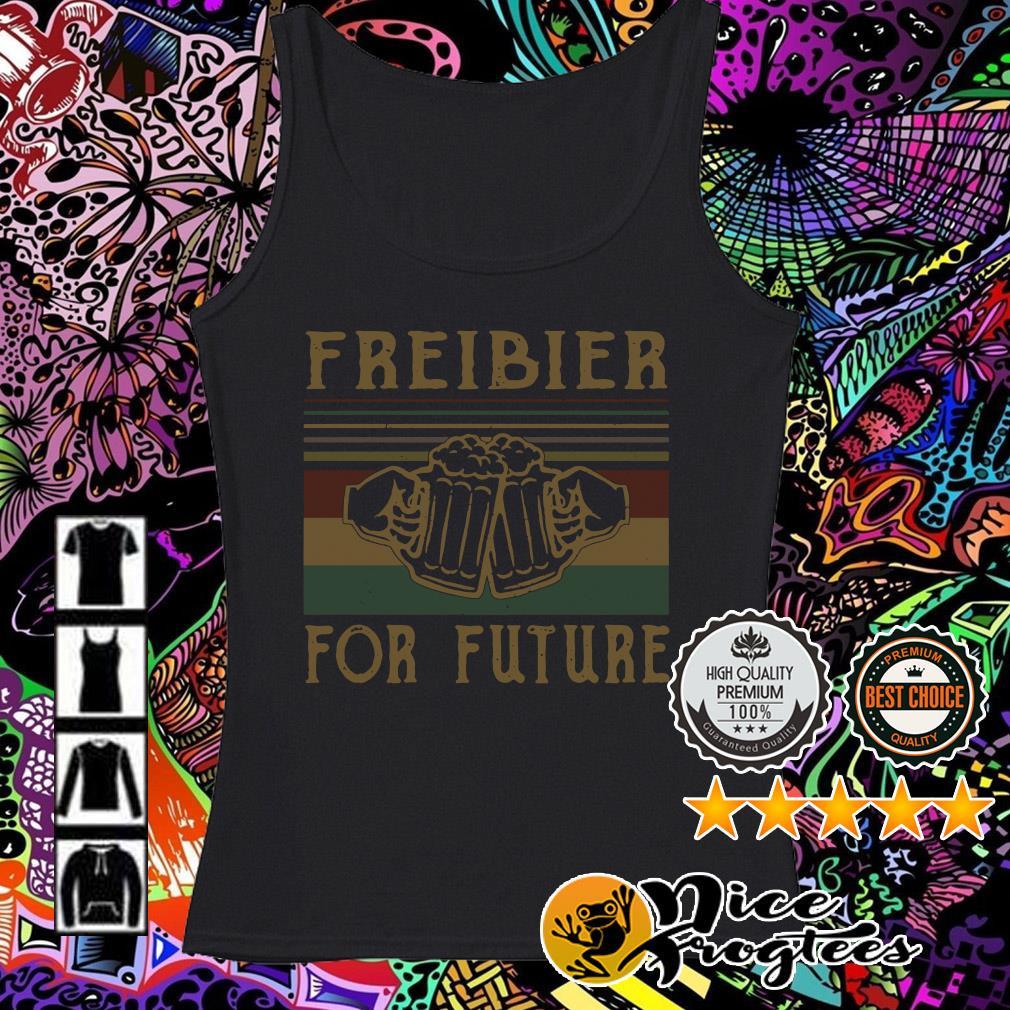 Freibier for Future Lustiges Oktoberfest Bier Sauf Wiesn Tank top
