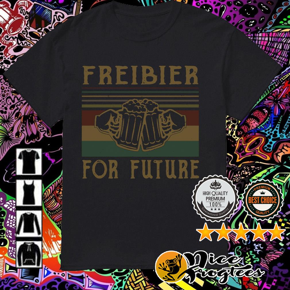Freibier for Future Lustiges Oktoberfest Bier Sauf Wiesn shirt