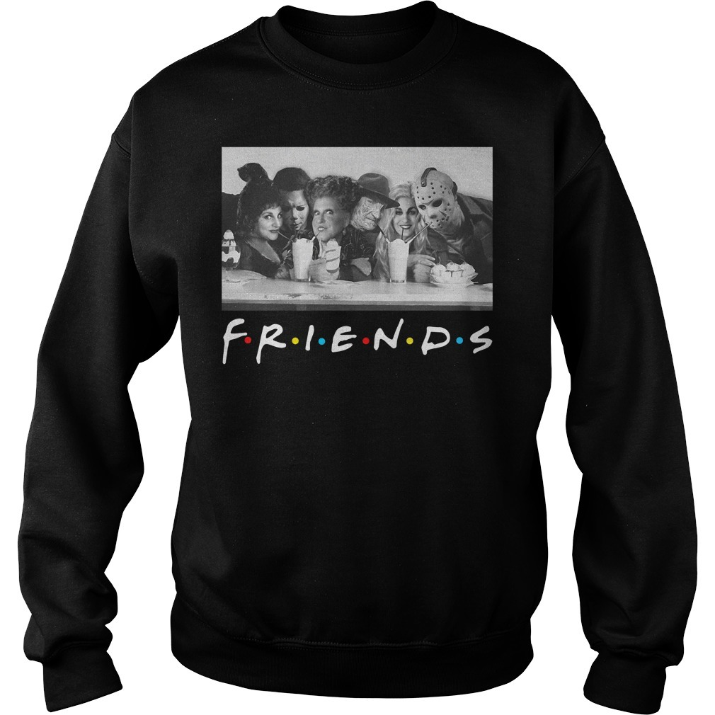Friends Mary Sanderson Michael Myers and Winifred Sanderson horror movies Sweater