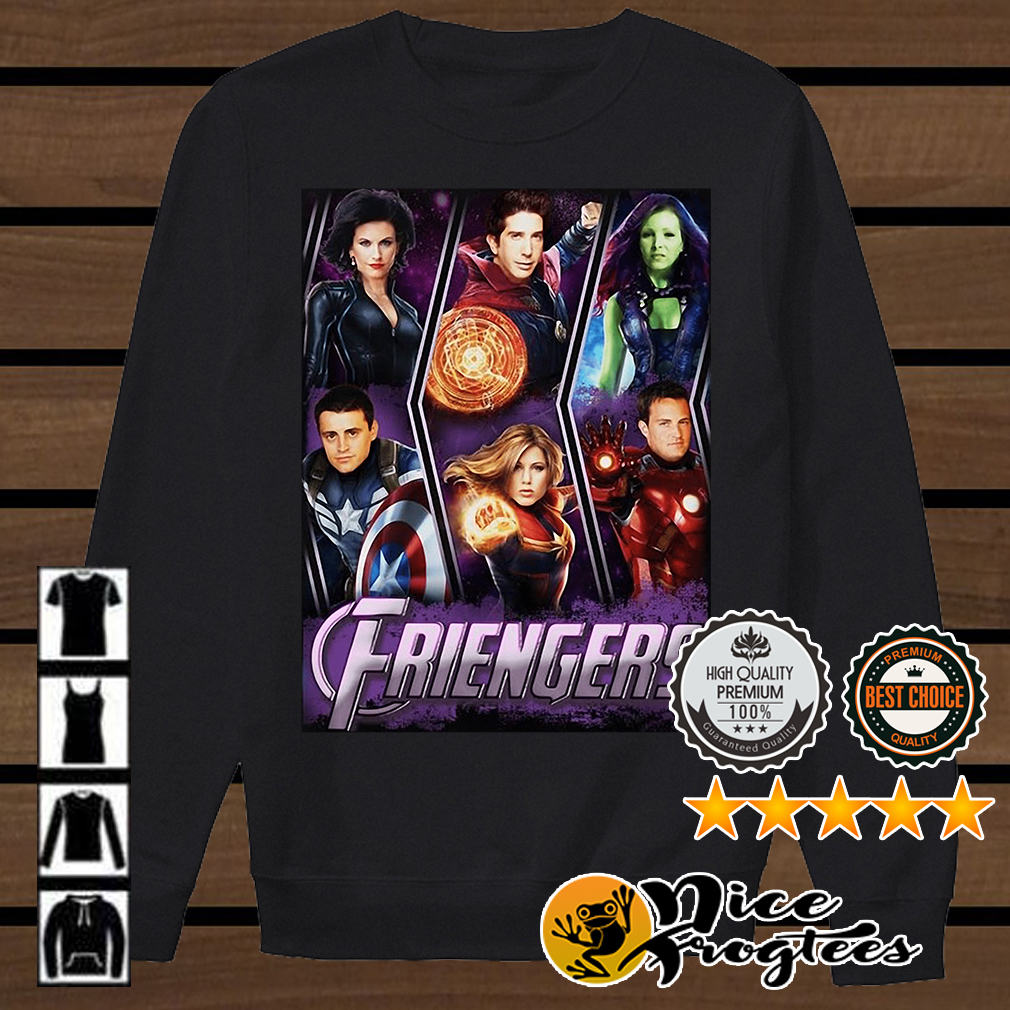 Friengers Friend Marvel Avengers shirt