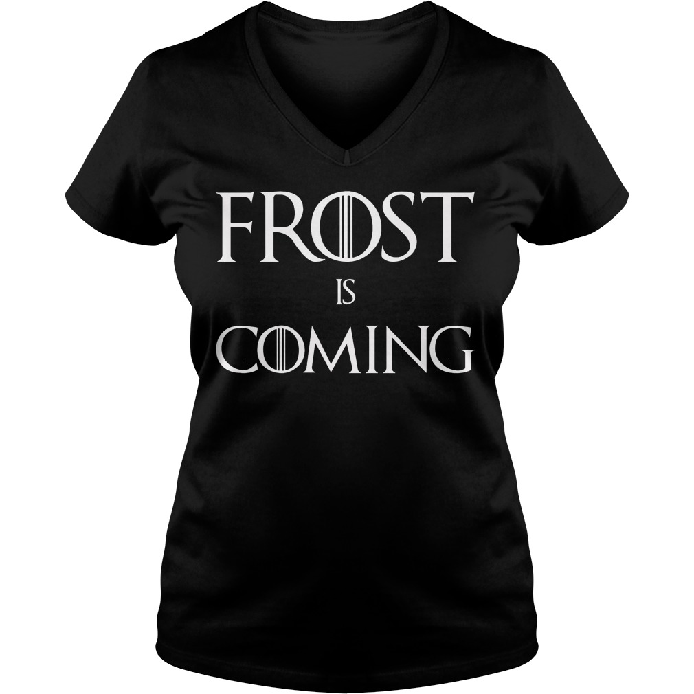 Frost is Coming V-neck t-shirt