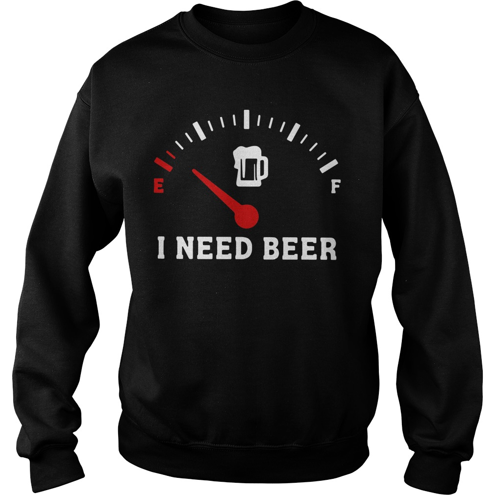 Funny Saying Cars I Need Beer Sweater