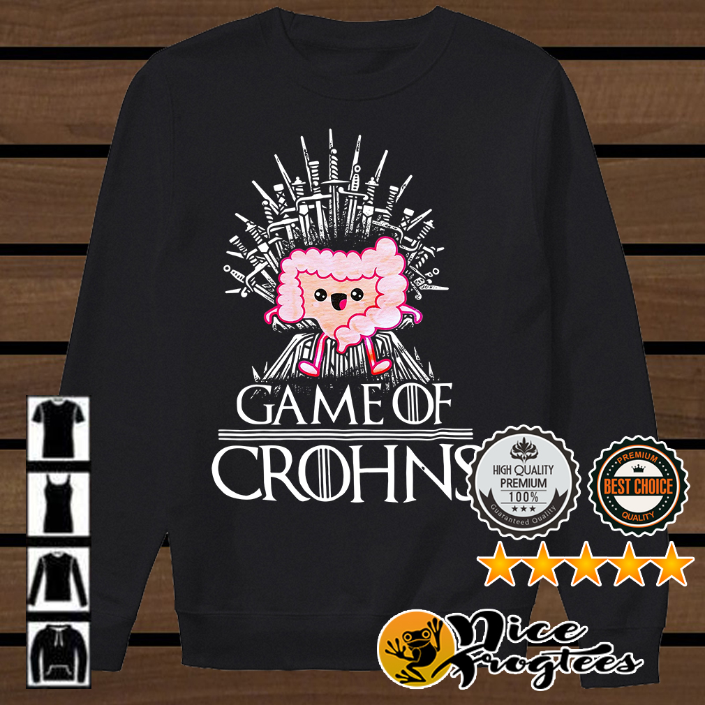 Game of Crohns Game of Thrones shirt