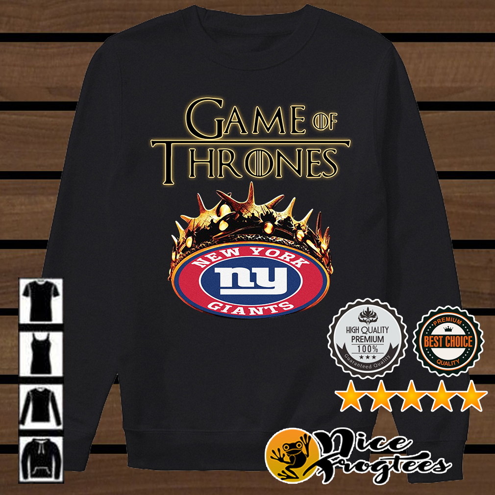 Game of Thrones New York Giants mashup shirt