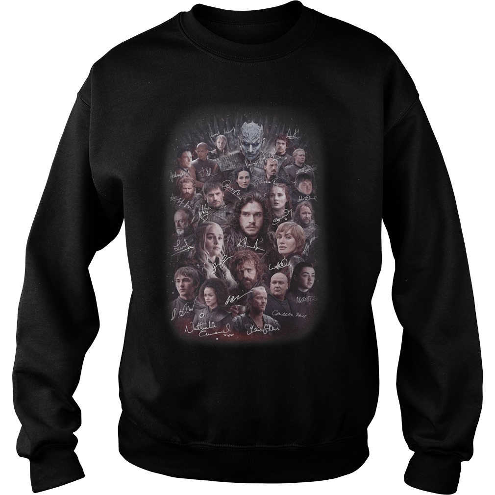 Game of Thrones all characters signature Sweater