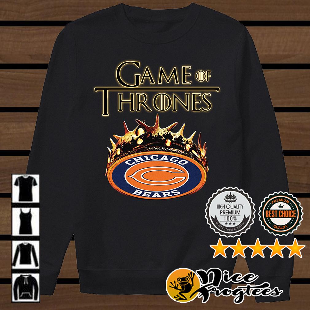 Game of Thrones Chicago Bears mashup shirt