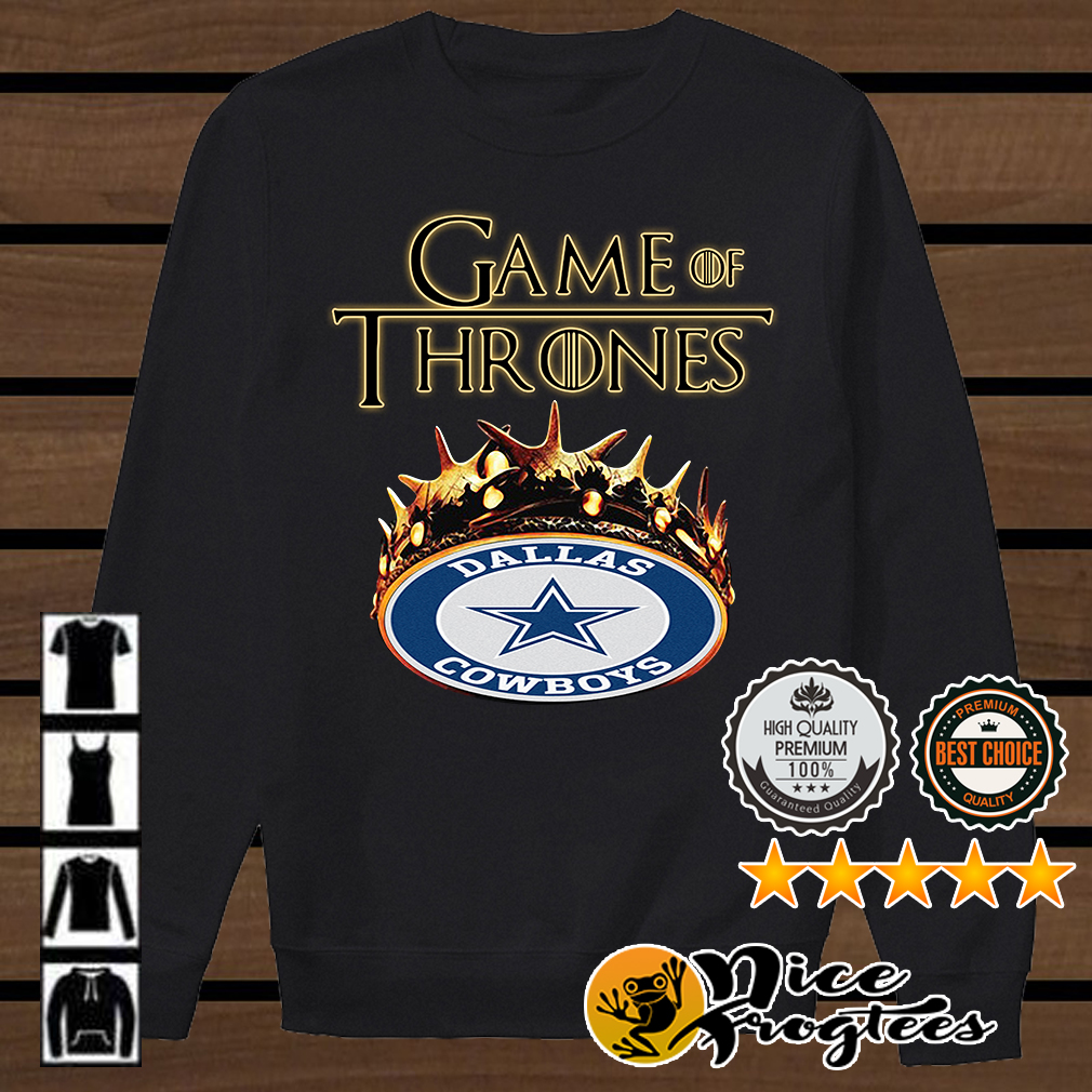 Game of Thrones Dallas Cowboys mashup shirt
