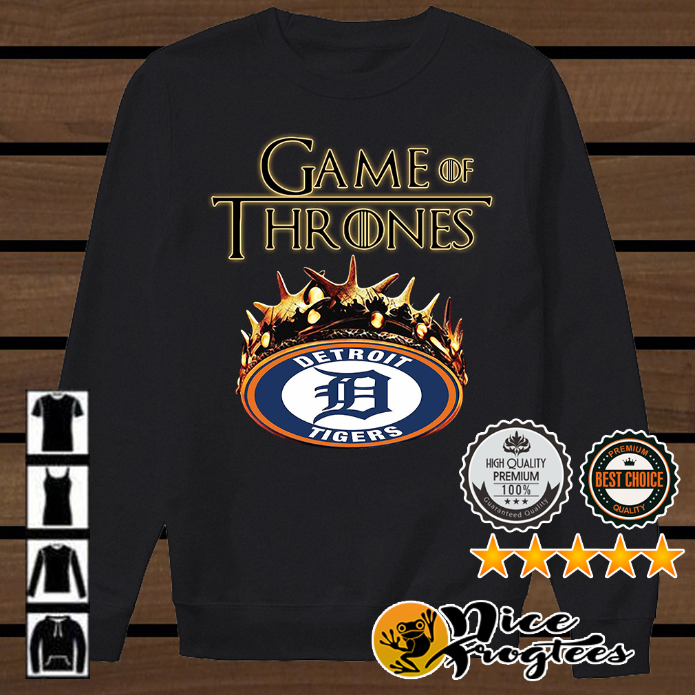 Game of Thrones Detroit Tigers mashup shirt