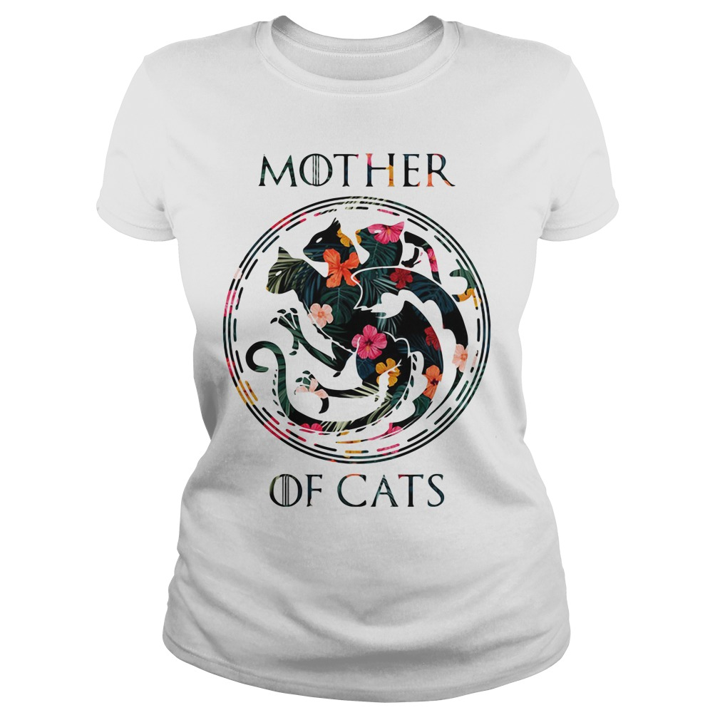 Game of Thrones Mother of Cats Ladies tee