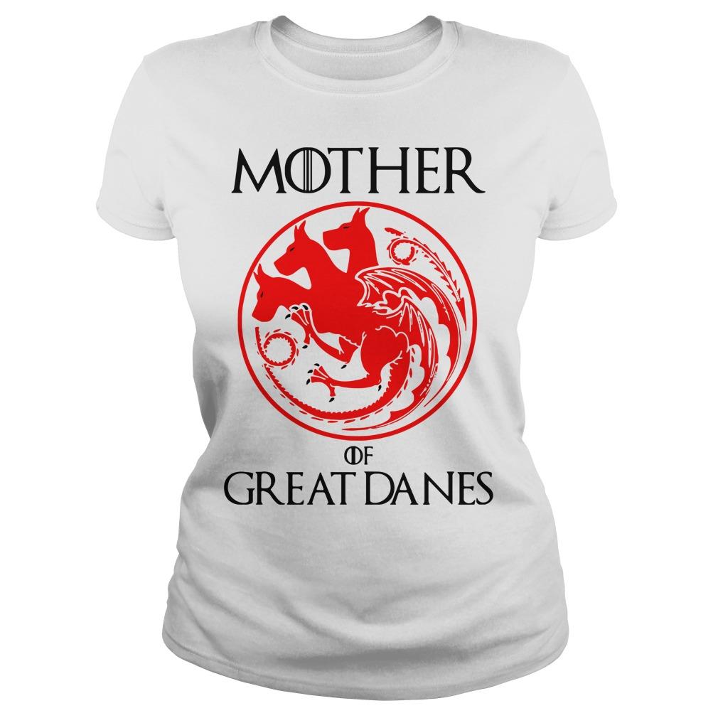 Game of Thrones Mother of Great Danes Ladies tee