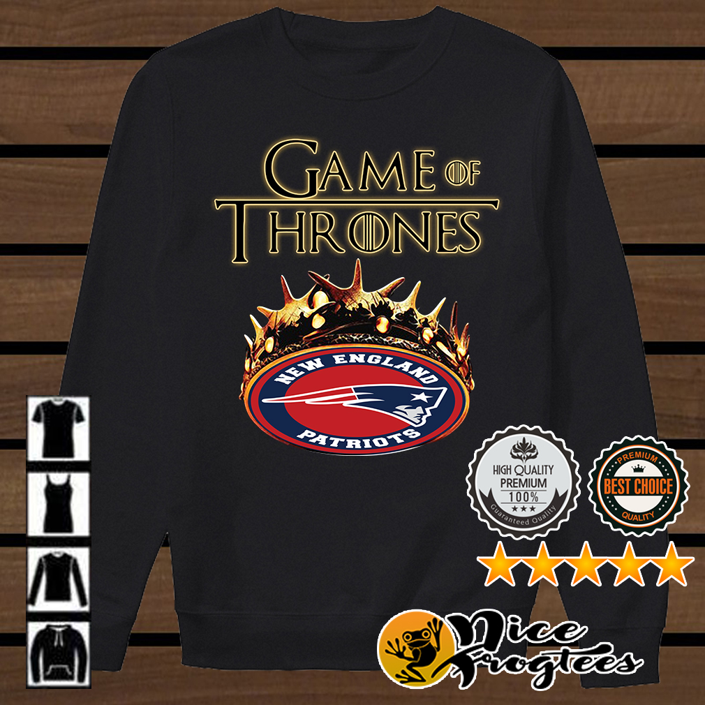 Game of Thrones New England Patriots mashup shirt