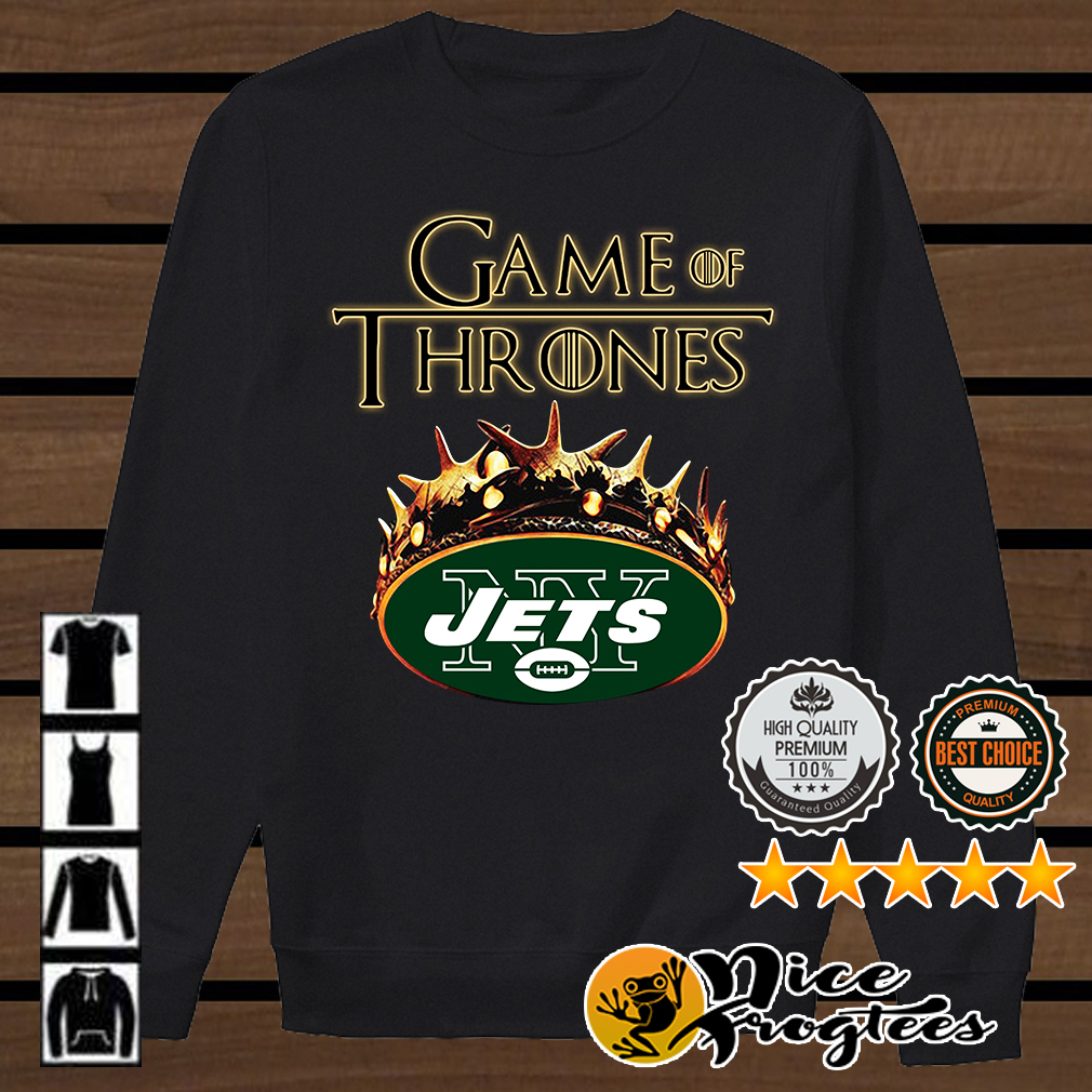 Game of Thrones New York Jets mashup shirt