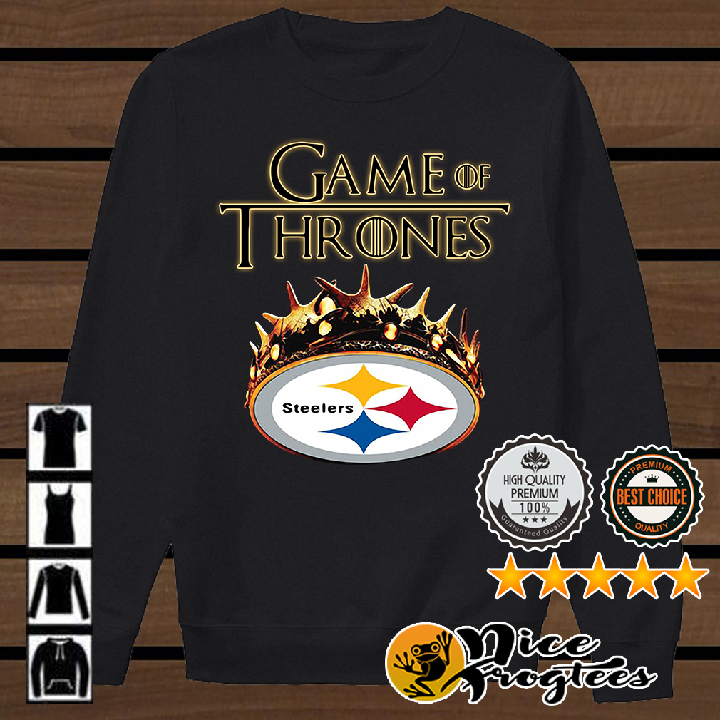 Game of Thrones Pittsburgh Steelers mashup shirt