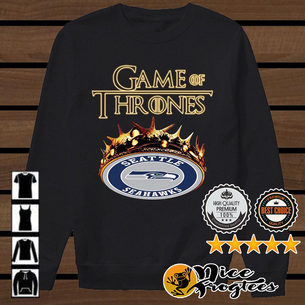 Game of Thrones Seattle Seahawks mashup shirt