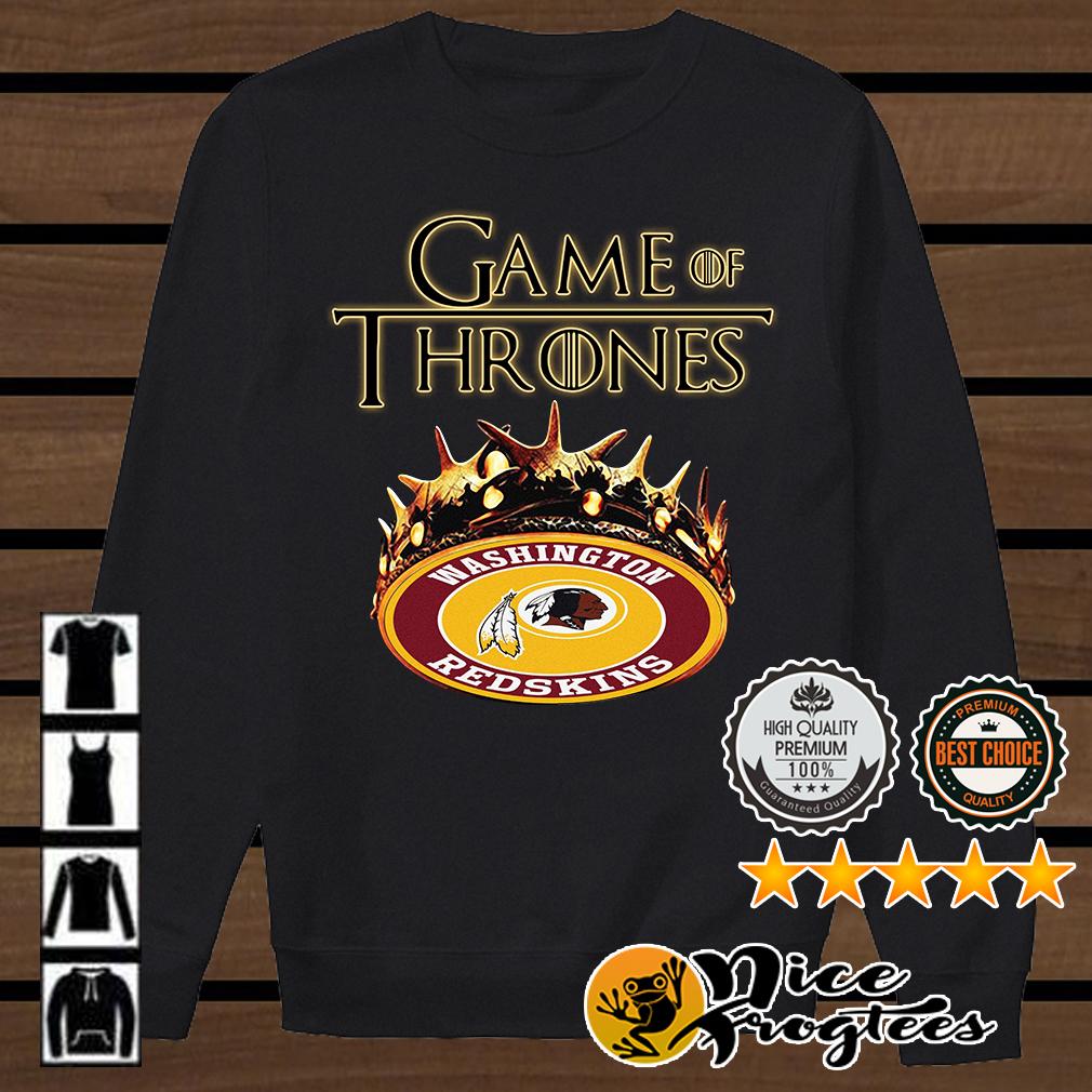 Game of Thrones Washington Redskins mashup shirt