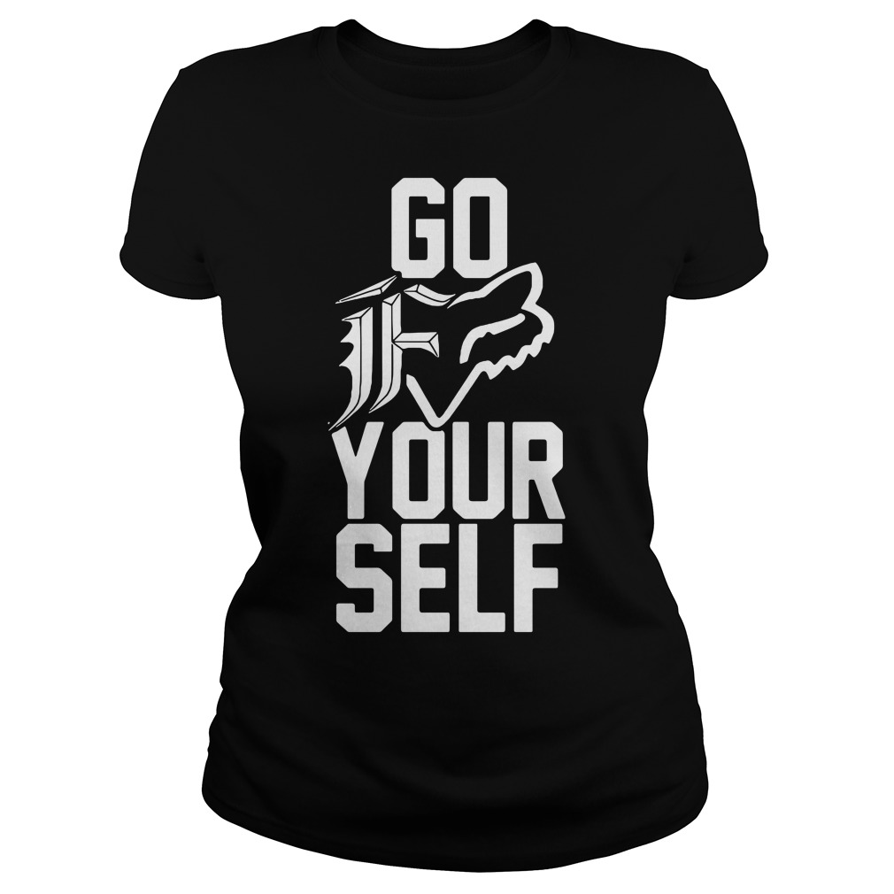 Go F your self Ladies tee