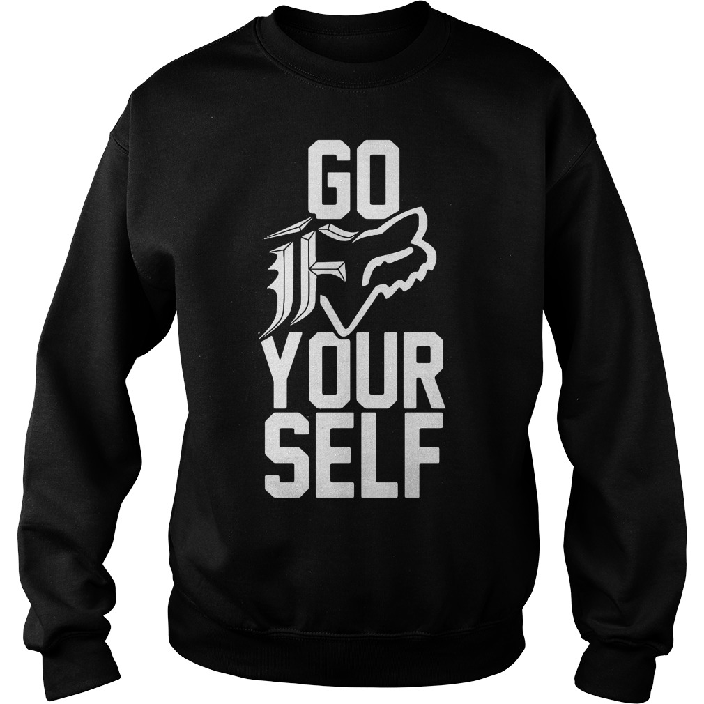 Go F your self Sweater