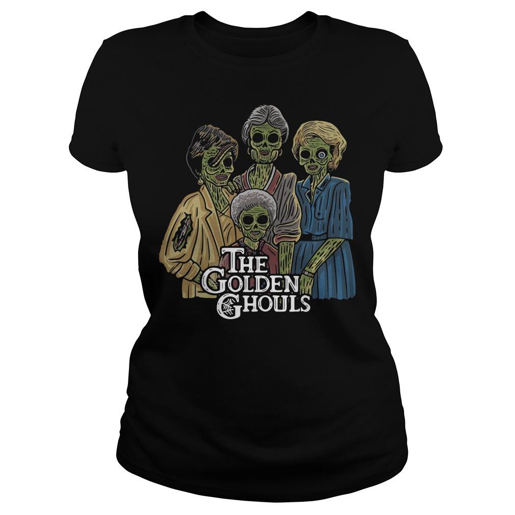 The Golden Ghouls Ladies tee