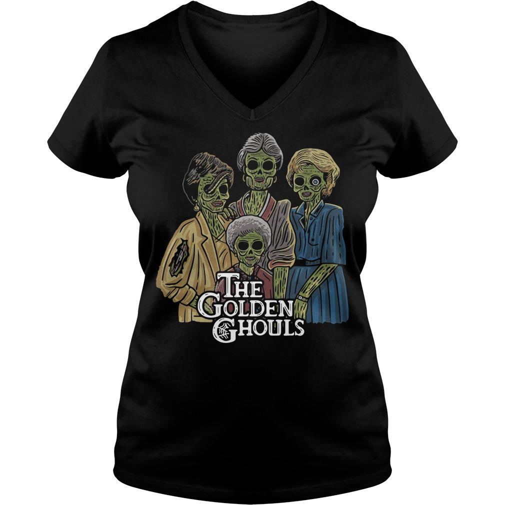 The Golden Ghouls V-neck t-shirt