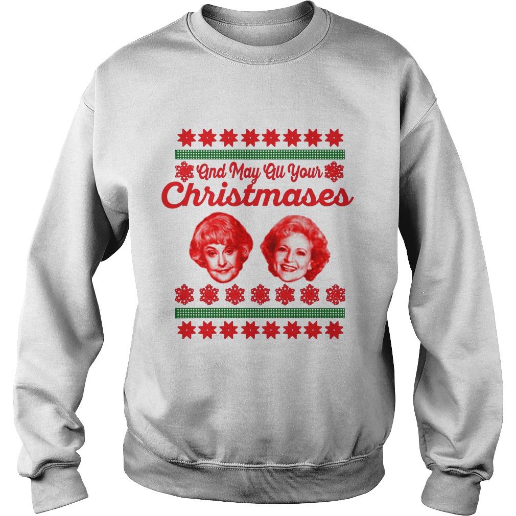 golden girls christmas sweater shirt hoodie and longsleeve tee
