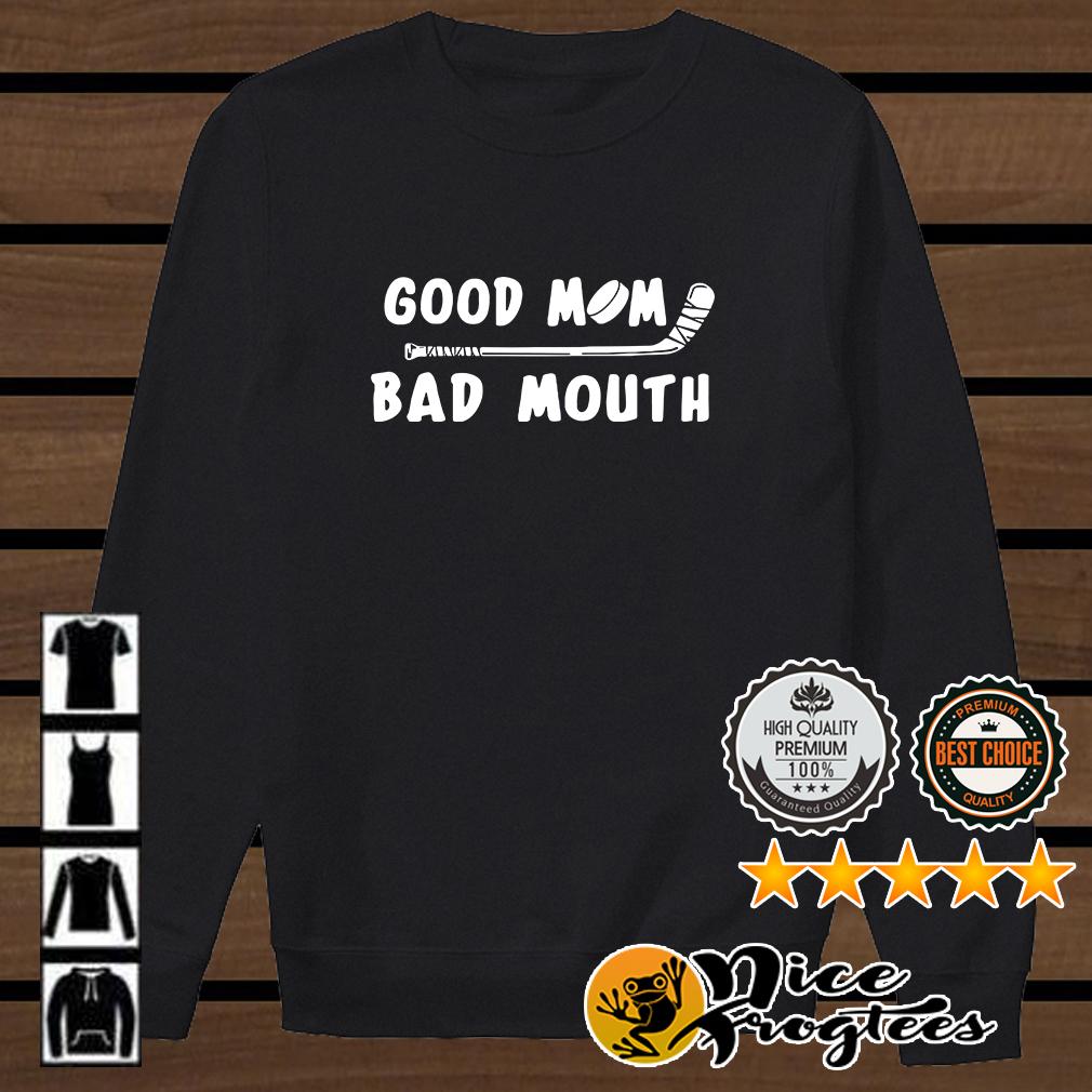 Golf good mom bad mouth shirt