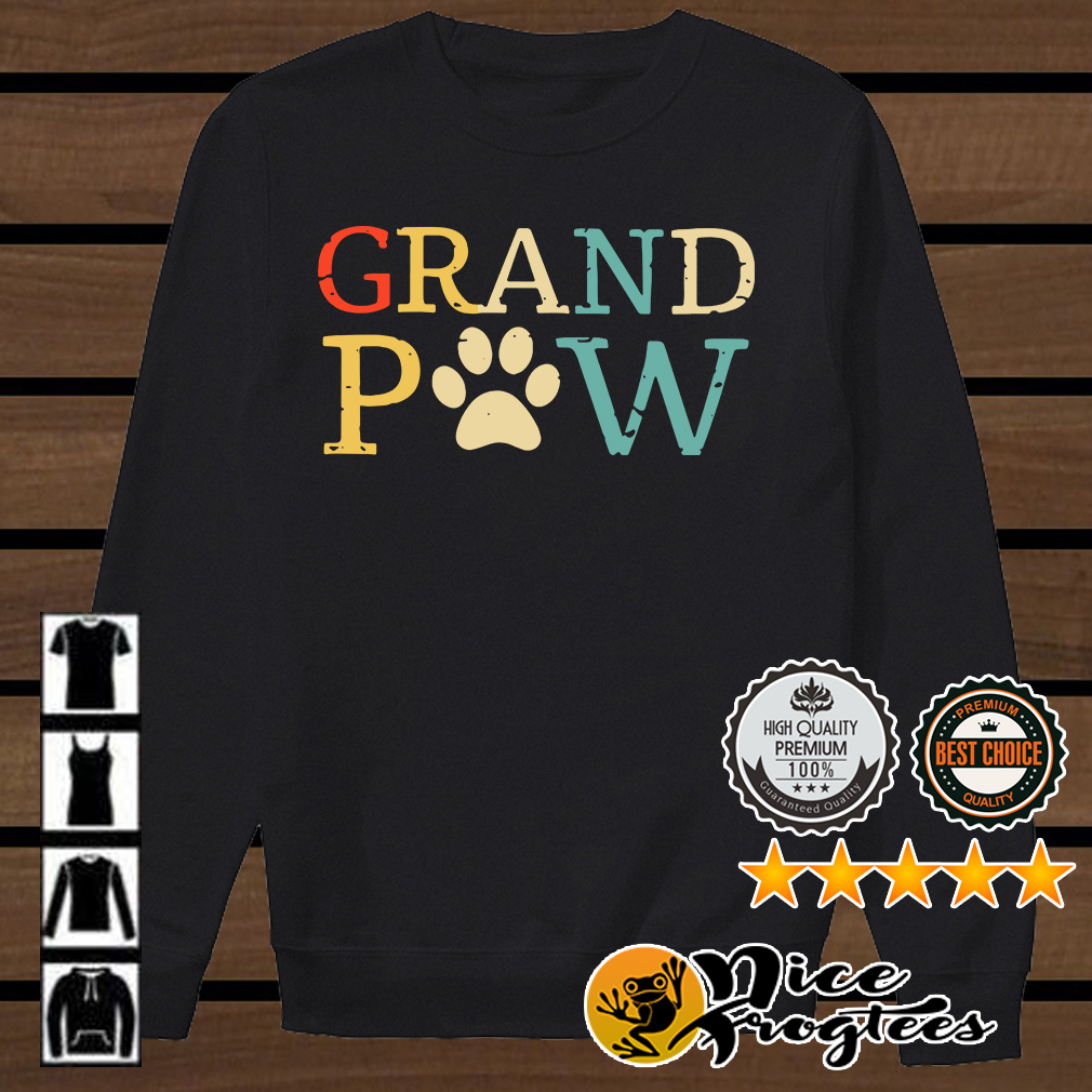 Grand Paw dog lover shirt