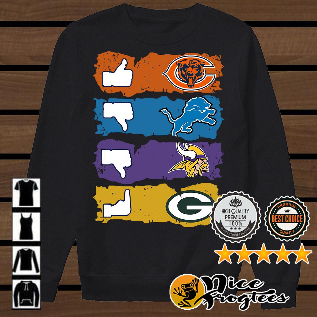 Green Bay Packers Minnesota Vikings Buffalo Bills Chicago Bears shirt