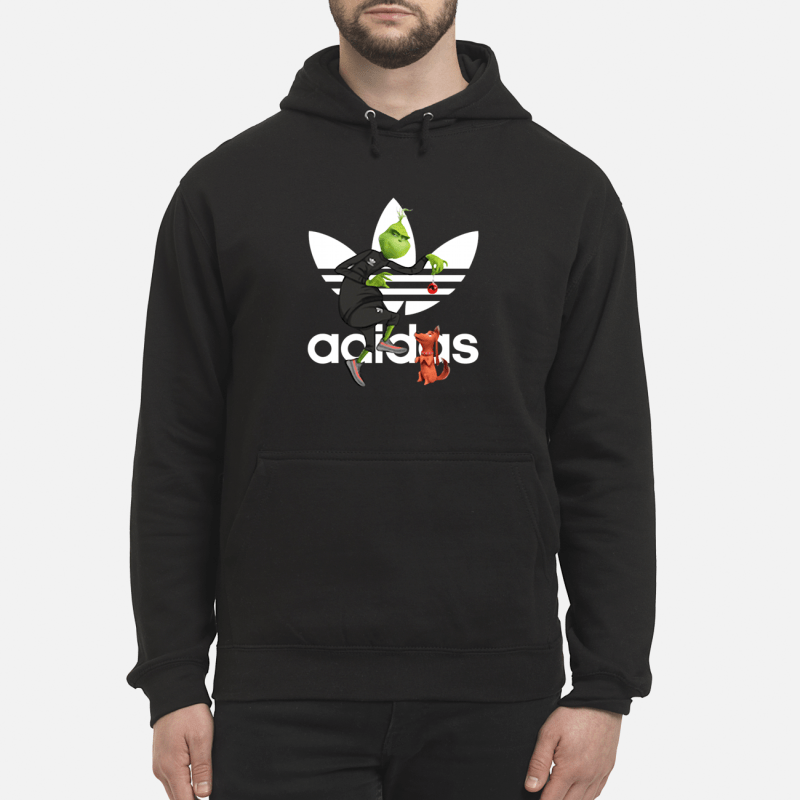 Grinch and Max Adidas Hoodie