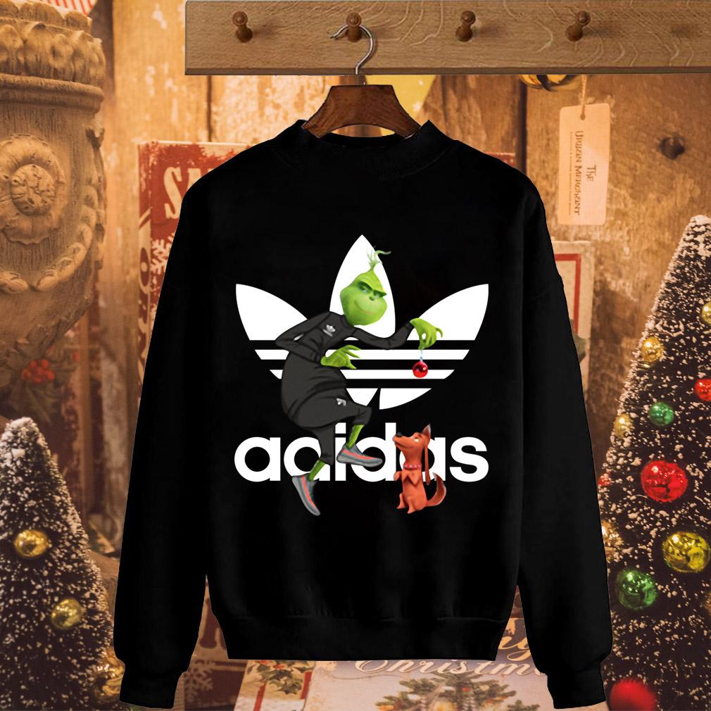 Grinch and Max Adidas shirt