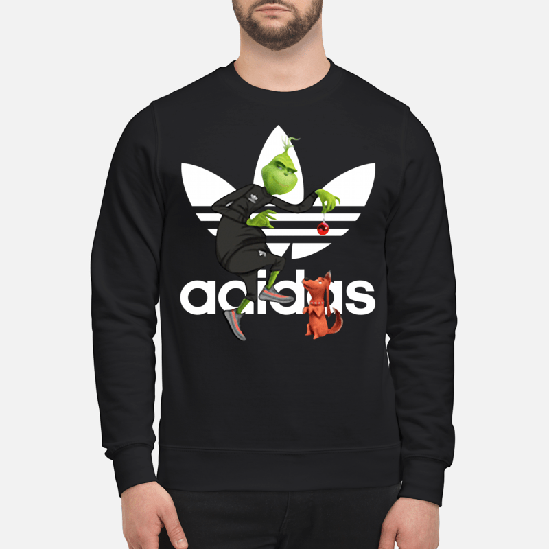 Grinch and Max Adidas Sweater