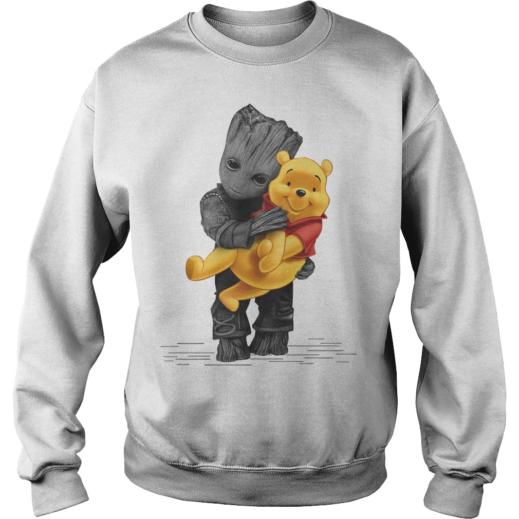 Groot hug baby Pooh Sweater