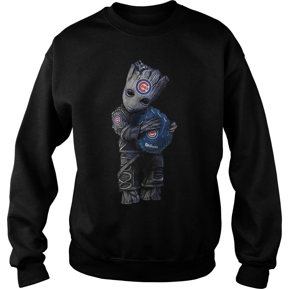 Groot hug Chicago Cubs Sweater
