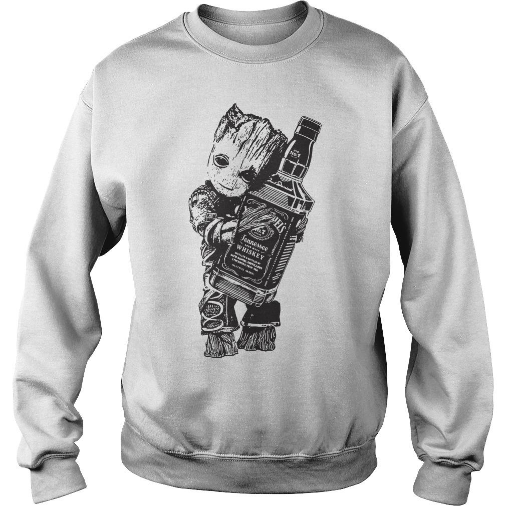 Groot hug Jack Daniel's Sweater