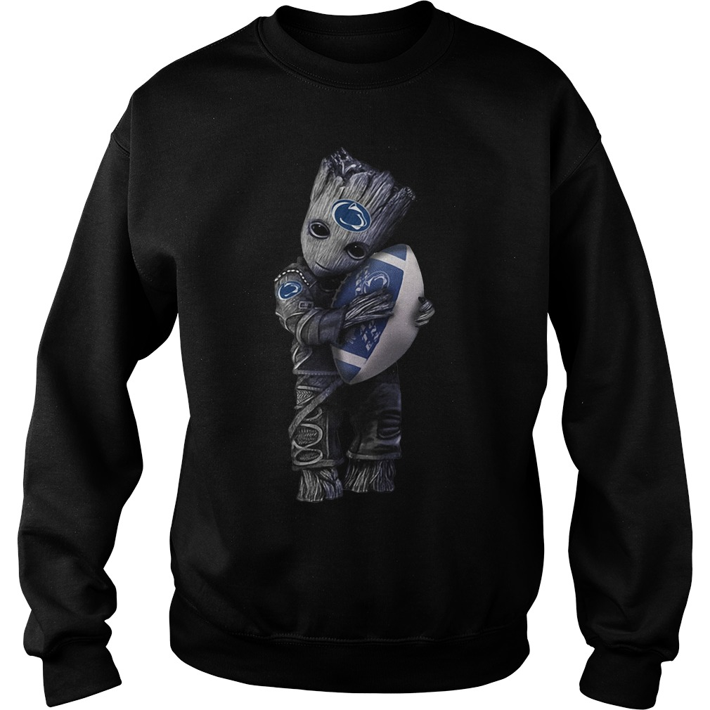 Groot hug Penn State Nittany Lions Sweater