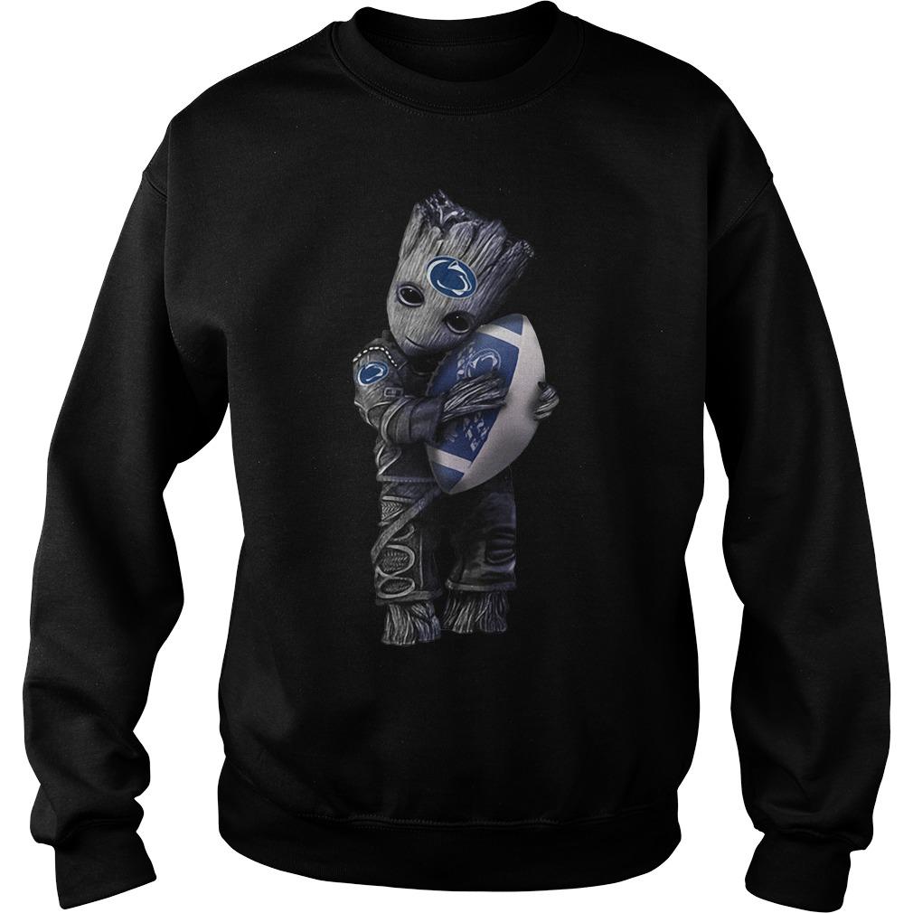 Groot hug Penn State Nittany Lions Sweater