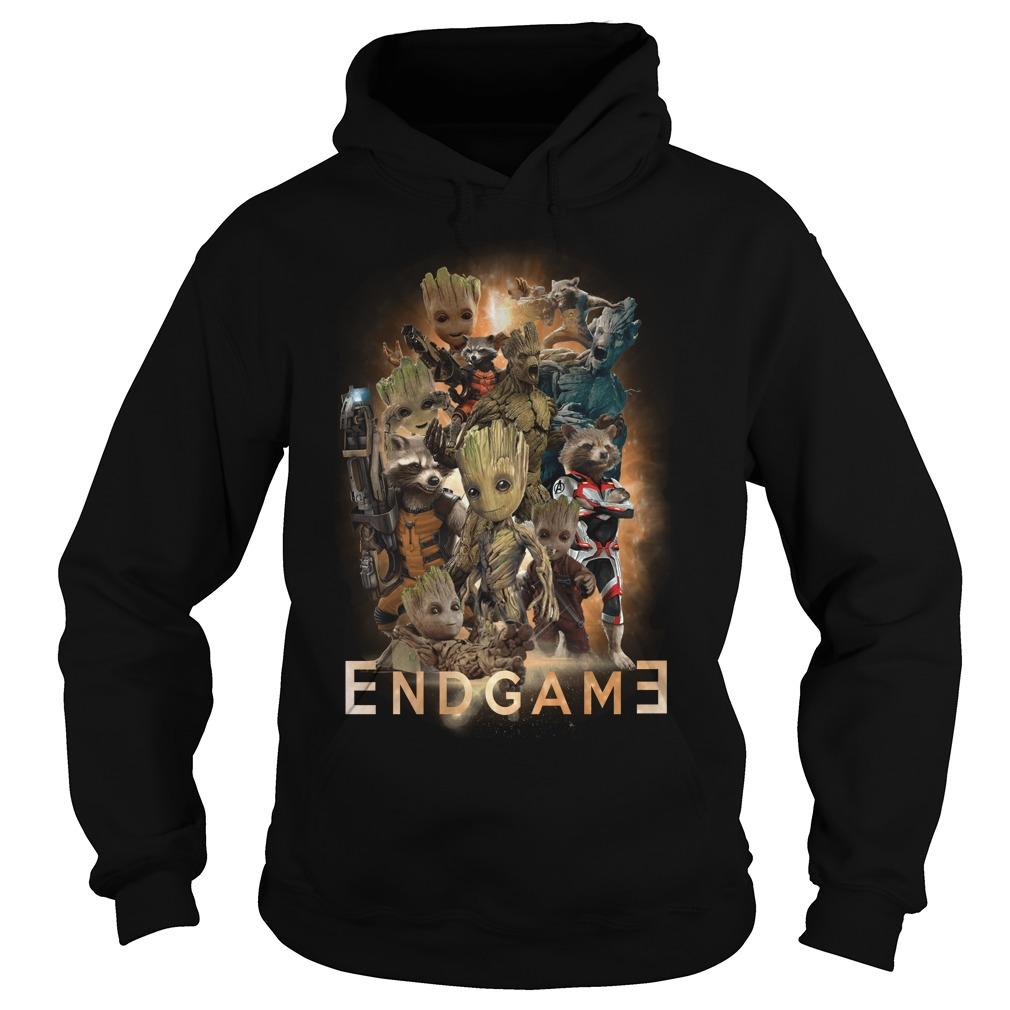 Groot Marvel Avengers Endgame Hoodie