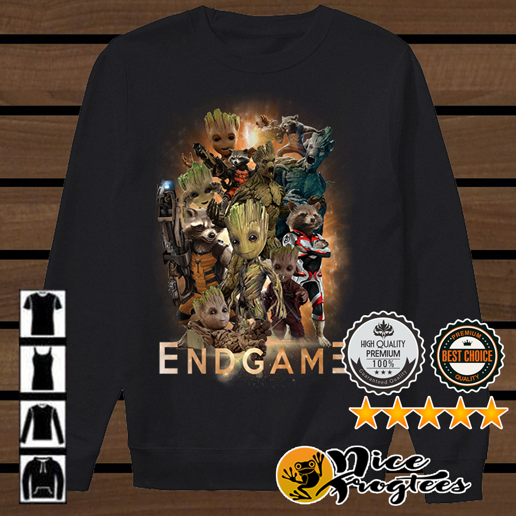 Groot Marvel Avengers Endgame shirt