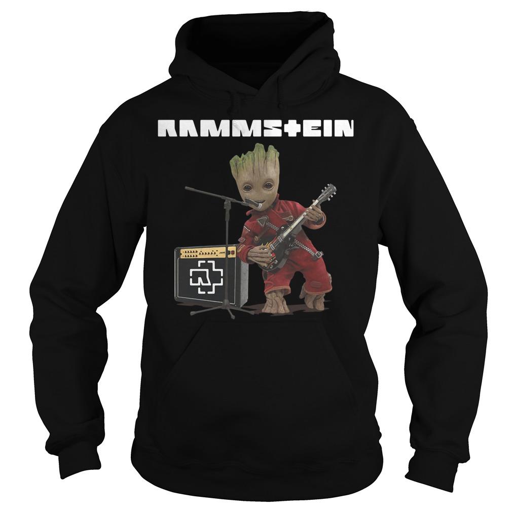 Groot singing Rammstein Hoodie