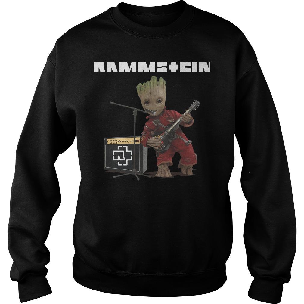 Groot singing Rammstein Sweater